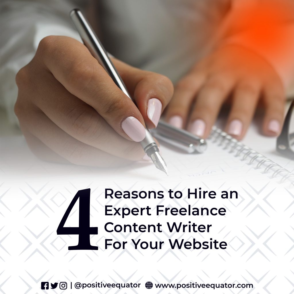 REASONS TO HIRE A FREELANCE SEO CONTENT WRITER