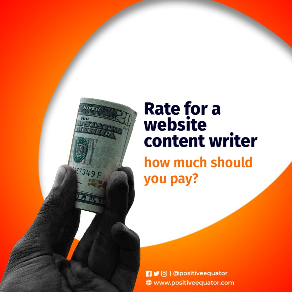 RATE FOR WEBSITE CONTENT WRITER HOW MUCH SHOULD YOU PAY